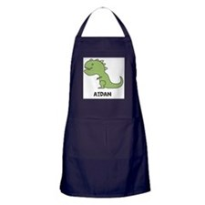 Personalized Dinosaur Apron (dark)