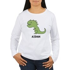 Personalized Dinosaur Long Sleeve T-Shirt