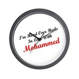 In Love with Mohammed Wall Clock