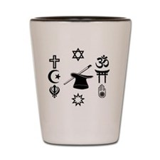 multifaith1300 Shot Glass