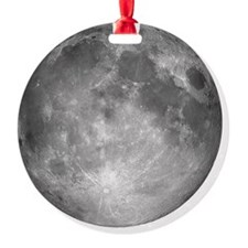 Square Moon Background2 Ornament
