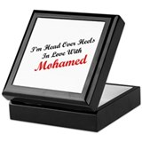 In Love with Mohamed Keepsake Box