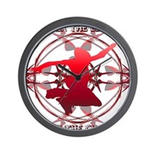 SKATERZ EDGE Wall Clock