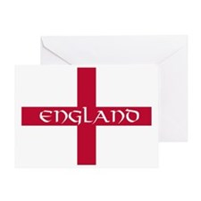 PC English Flag - England V Greeting Card