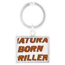 Natural Born Griller Dexter Landscape Keychain