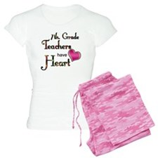 Teachers Have Heart 7 Pajamas