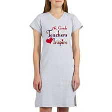 Teachers Inspire 7 Women's Nightshirt