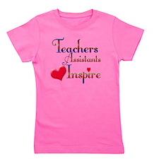 Teachers Inspire Assistant  Girl's Tee