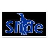 Slide Rectangle Decal
