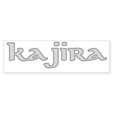 kajira grey Bumper Sticker