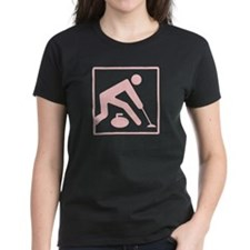 Curling Logo Tee