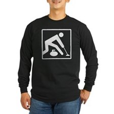 Curling Logo T