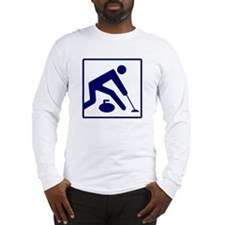 Curling Logo Long Sleeve T-Shirt