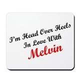 In Love with Melvin Mousepad