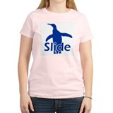 Slide Women's Pink T-Shirt