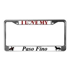 PF License Plate Frame