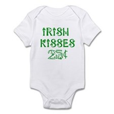 Irish Kisses 25 cents Infant Bodysuit