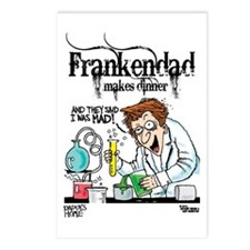 Frankendad Postcards (Package of 8)