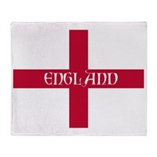 PC English Flag - England Perl Throw Blanket