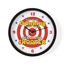 Cute Shooters Wall Clock
