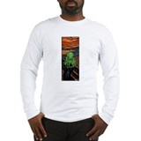 Cute Zombie sci fi Long Sleeve T-Shirt