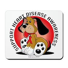 Heart-Disease-Dog Mousepad