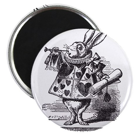 White Rabbit 2 Magnet