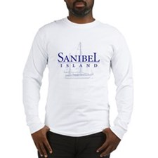 Sanibel Sailboat - Long Sleeve T-Shirt