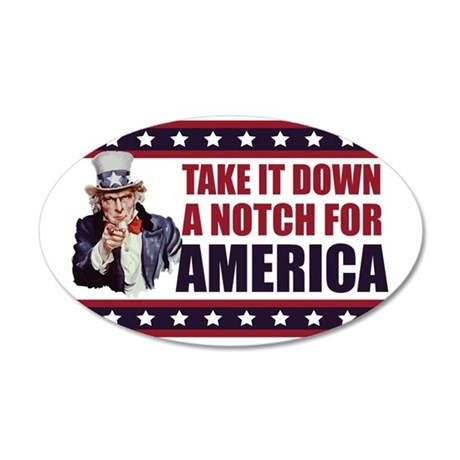 2-Uncle-Sam---Take-it-down-a 35x21 Oval Wall Decal