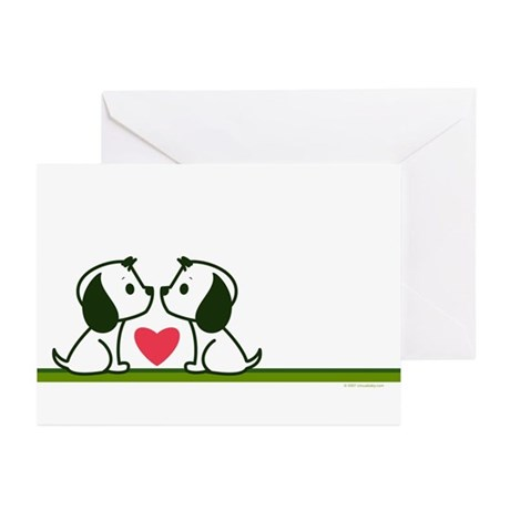 Puppy Love Greeting Cards (6)
