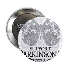 "Parkinsons-Butterfly-A 2.25"" Button"