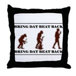 BDBB EV Throw Pillow