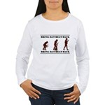 BDBB EV Women's Long Sleeve T-Shirt