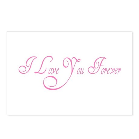I Love You Forever Postcards (Package of 8)