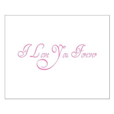 I Love You Forever Small Poster