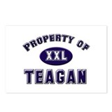 Property of teagan Postcards (Package of 8)