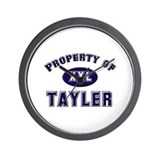 Property of tayler Wall Clock