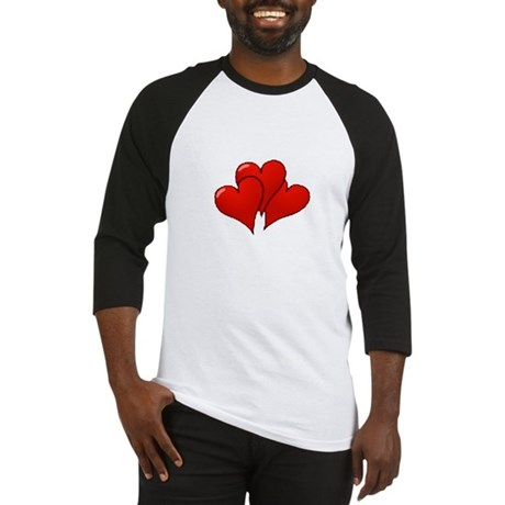 Three Hearts Baseball Jersey