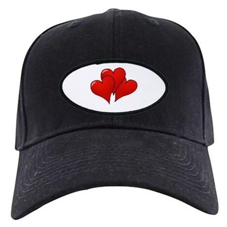 Three Hearts Black Cap