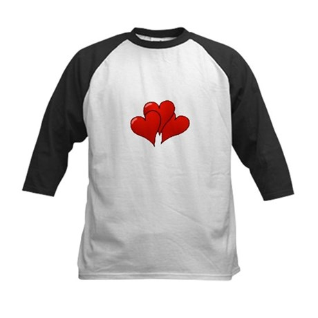 Three Hearts Kids Baseball Jersey