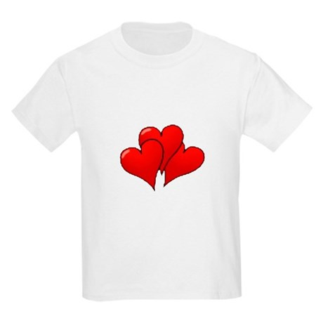 Three Hearts Kids T-Shirt