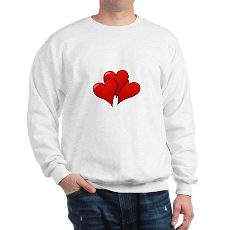 Three Hearts Sweatshirt