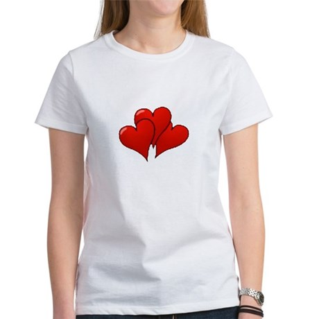 Three Hearts Women's T-Shirt