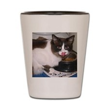 TootsEating Shot Glass