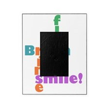 brush floss rinse smile Picture Frame