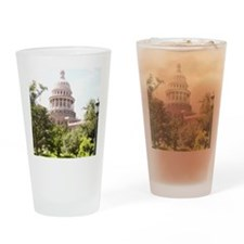 Austin State Capitol Building Drinking Glass