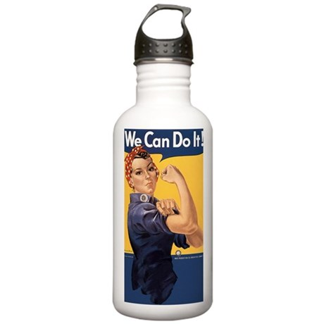 we-can-do-it_y Stainless Water Bottle 1.0L