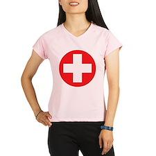 red cross Performance Dry T-Shirt