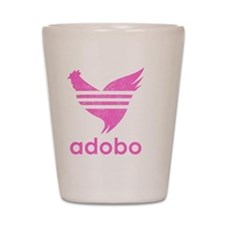 adob-pink Shot Glass