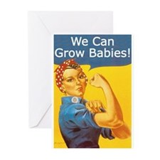 We Can Grow Babies! Greeting Cards (Pk of 10)
